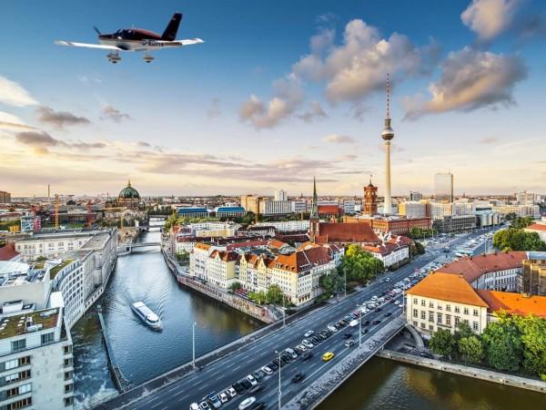 Flugzeug Rundflug Berlin exklusiv