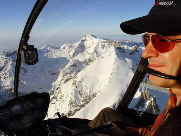 Helikopter Rundflug Alpen exklusiv