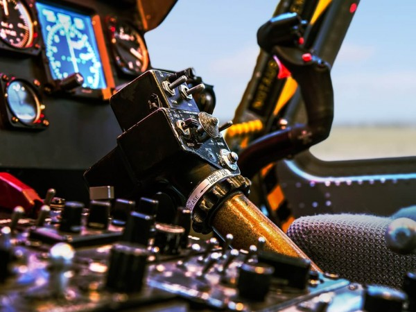 Helikopter Simulator Hamburg (Bell UH-1 fixed)