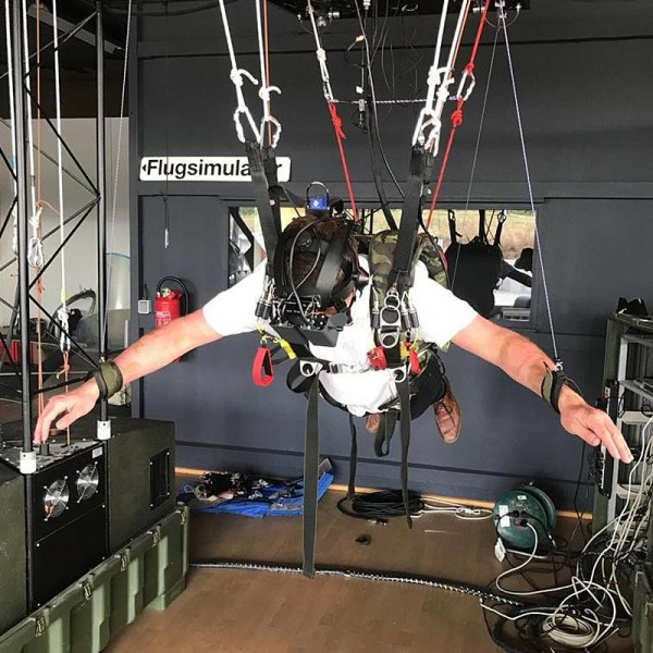 Fallschirm Simulator Hamburg