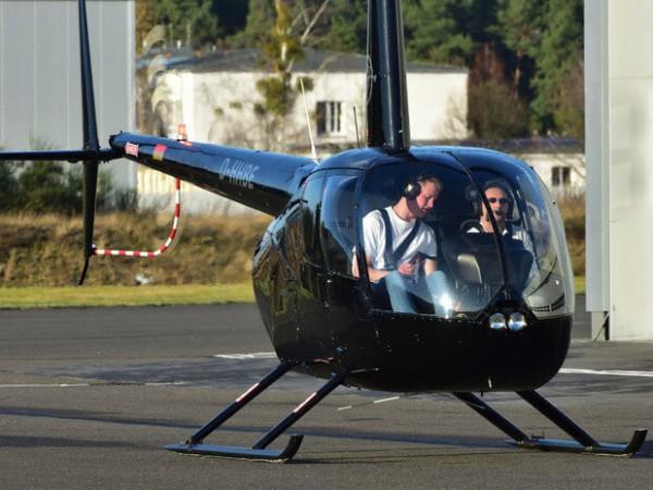 Helikopter selber fliegen Berlin 120kg