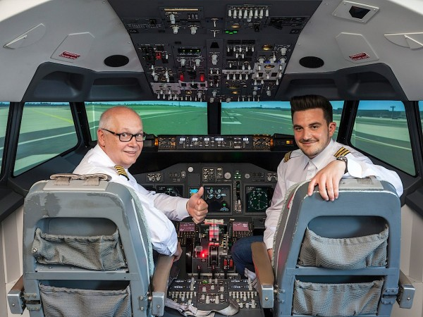 Flugzeug Simulator Mannheim (Boeing 737 fixed)