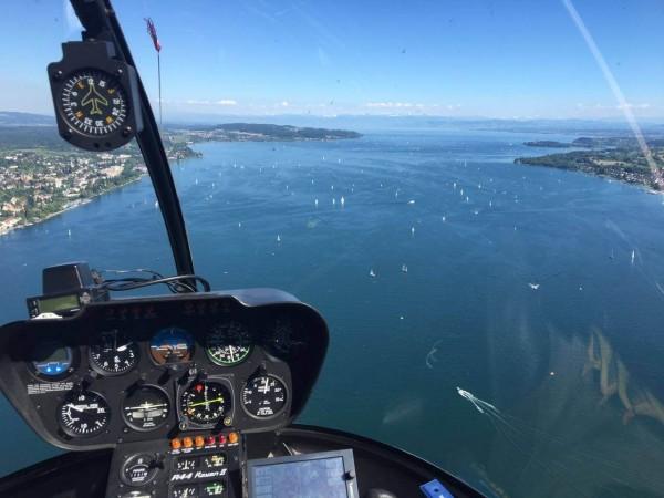 Helikopter Rundflug Bodensee exklusiv