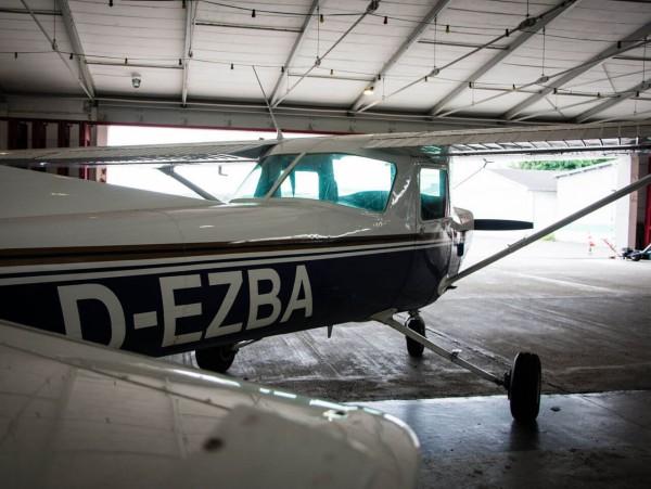 Flugzeug Schnupperflug Egelsbach 90kg