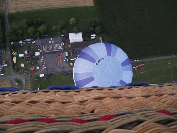 Gruppen Ballonfahrt Gießen