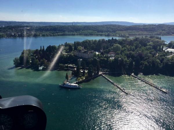 Helikopter Rundflug Donautal-Bodensee exklusiv