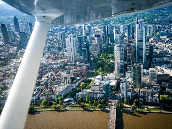 Flugzeug Rundflug Frankfurt exklusiv