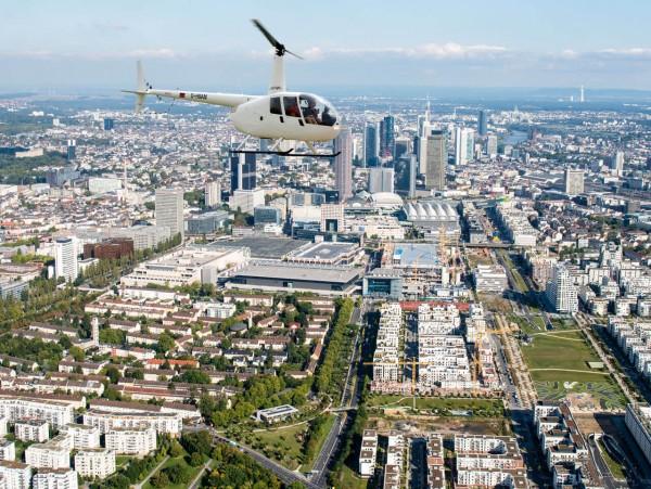 Helikopter Rundflug Frankfurt exklusiv