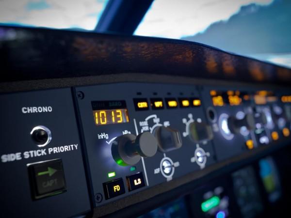 Flugzeug Simulator Hamburg (Airbus A320 fixed)