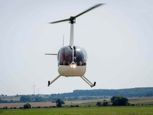 Helikopter Schnupperflug Reichelsheim 120kg