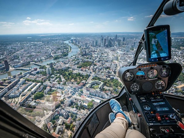 Skyline Helicopter Rundflug Frankfurt